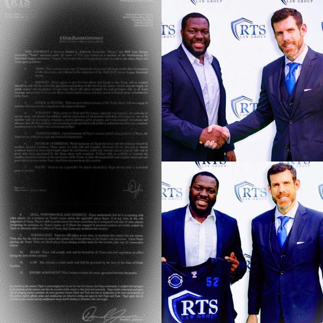 RTS signs Attorney Daniel Johnson to Long-Term Deal