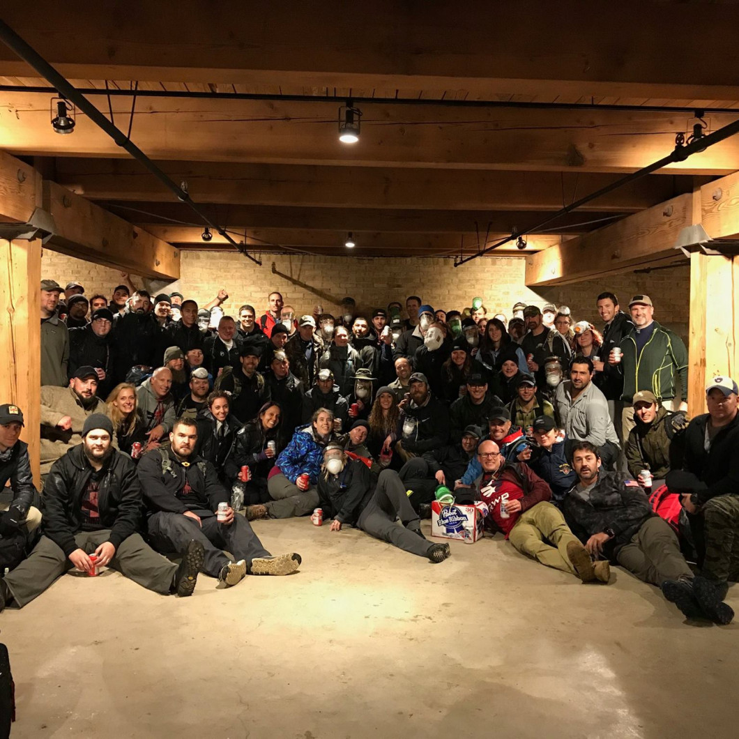 Smith Pushes the Limits during 12-Hour GoRuck Challenge